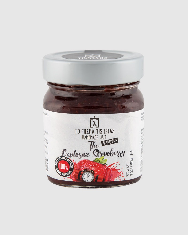 Strawberry Jam no sugar